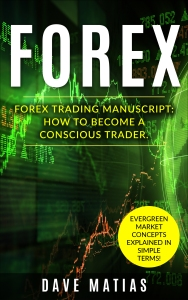 E-book cover for the Forex Trading Manuscript